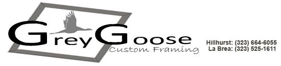 Grey Goose Framing